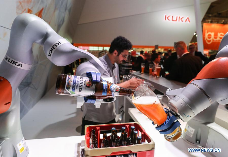 Over 6,500 exhibitors present technologies at Germany's Hanover Messe